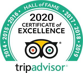 2020 TripAdvisor Certificate of Excellence and Hall of Fame, 7 years of outstanding reviews, Hermanus, South Africa